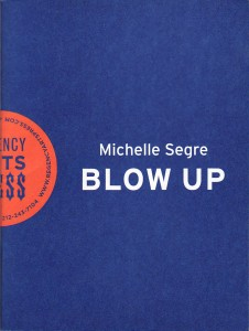 Michelle Segre, Blow Up, artist book