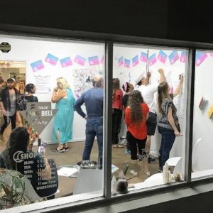 Doodle Party at IS Projects, Sept-Oct 2017