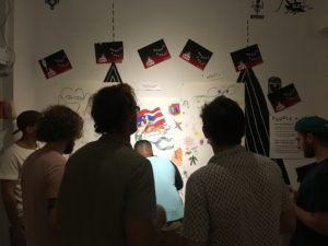 Doodle Party at Laser Wolf, Oct 14