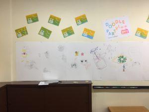 Doodle Party at Tate's Comics, Aug 24-Sept 22, 2017