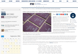 FIU Carta News-Girls Club Launches new catalog-Sept,12, 2014