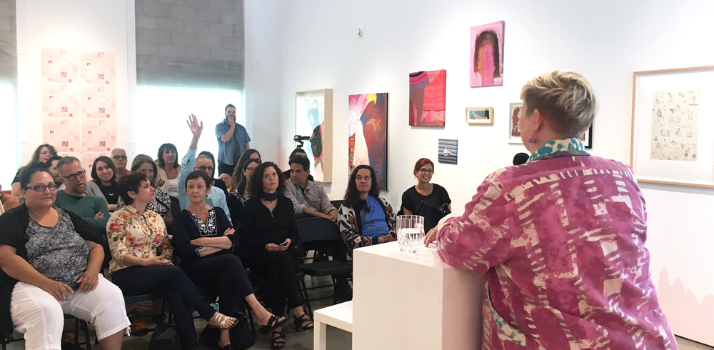 Lisa Rockford  >> Gritty In Pink Art Talk With Lisa Rockford Girls Club