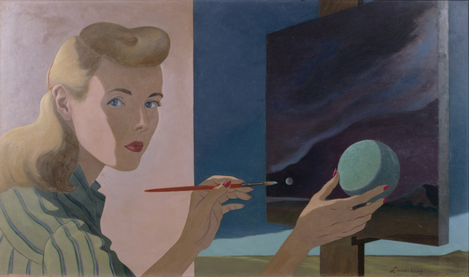 The Art Appraiser  Helen Lundeberg  California Surrealist