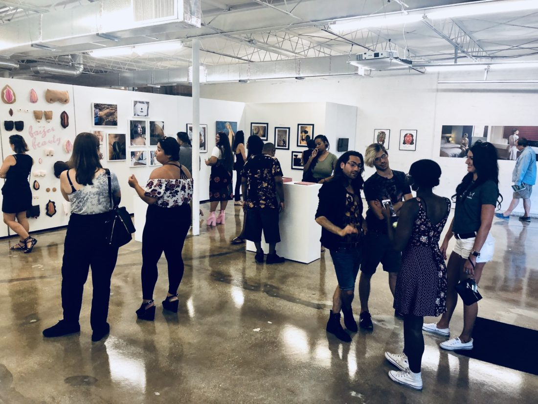 Opening Reception of Beauty Con(Scious), Saturday, July