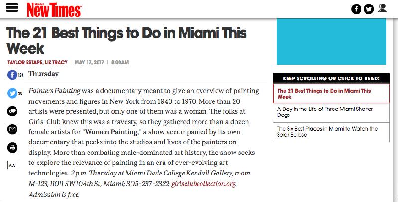 MiamiNewTimes-21BestThings-WomenPainting-May17,2017