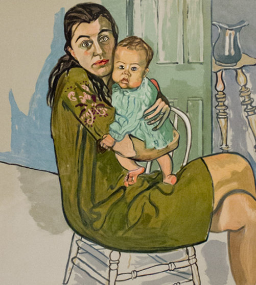 Alice Neel, nancy and Olivia, 1982