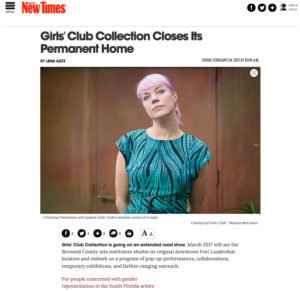NewTimesMiami-GCCollectionClosesItsPermanentHome-Feb242017