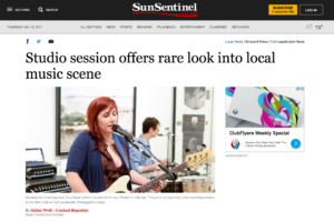 SunSentinel-StudioSessionOffersRareLook-Jan11,2017