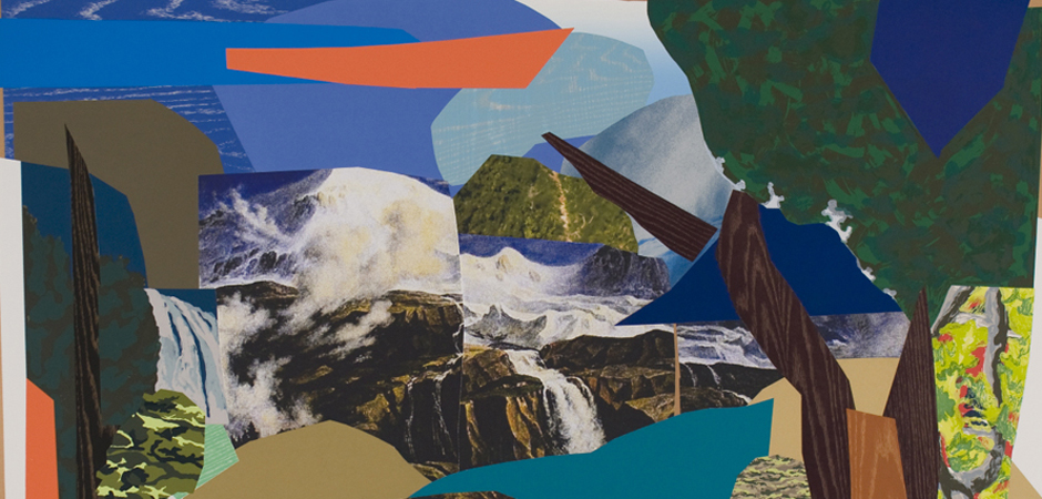 Mickalene Thomas, Landscape Majestic (detail)