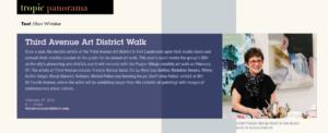 Tropic Magazine-Feb2016-ThirdAveArtwalk-detail